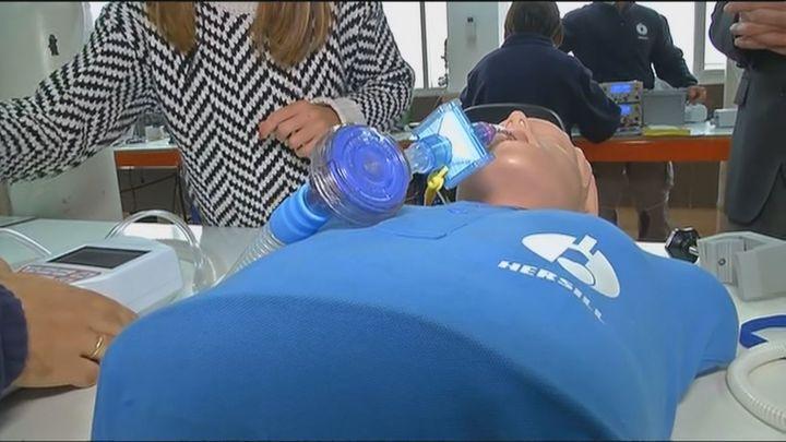 Visitamos la empresa de Móstoles que fabricó más de 5.000  respiradores para hospitales en lo peor de la primera ola