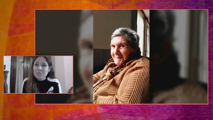 """María, tras perder a su abuela por covid: """"No se merecía estar sola en sus últimas horas"""""""