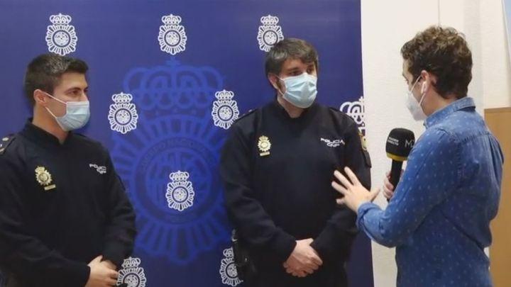 Hablan por primera vez los policías heridos en la explosión de la calle Toledo