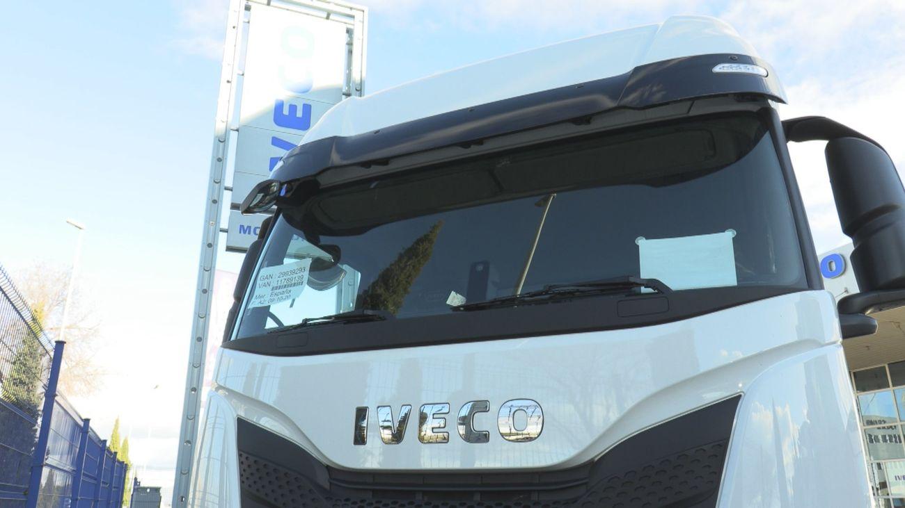 Imagen de un camión de Iveco