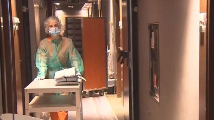 Aumentan los ingresos en el hotel medicalizado del Hospital Gregorio Marañón