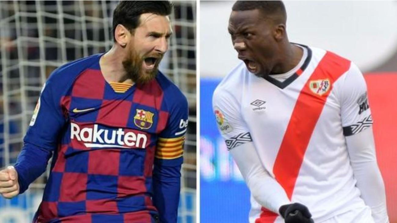 El Rayo busca la sorpresa ante el Barcelona