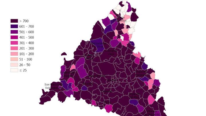 Fuenlabrada y Móstoles, los municipios más castigados en Madrid en esta tercera ola del coronavirus