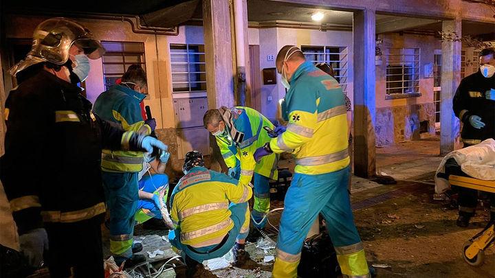 Una mujer,  herida de gravedad  tras incendiarse su vivienda en Perales del Río