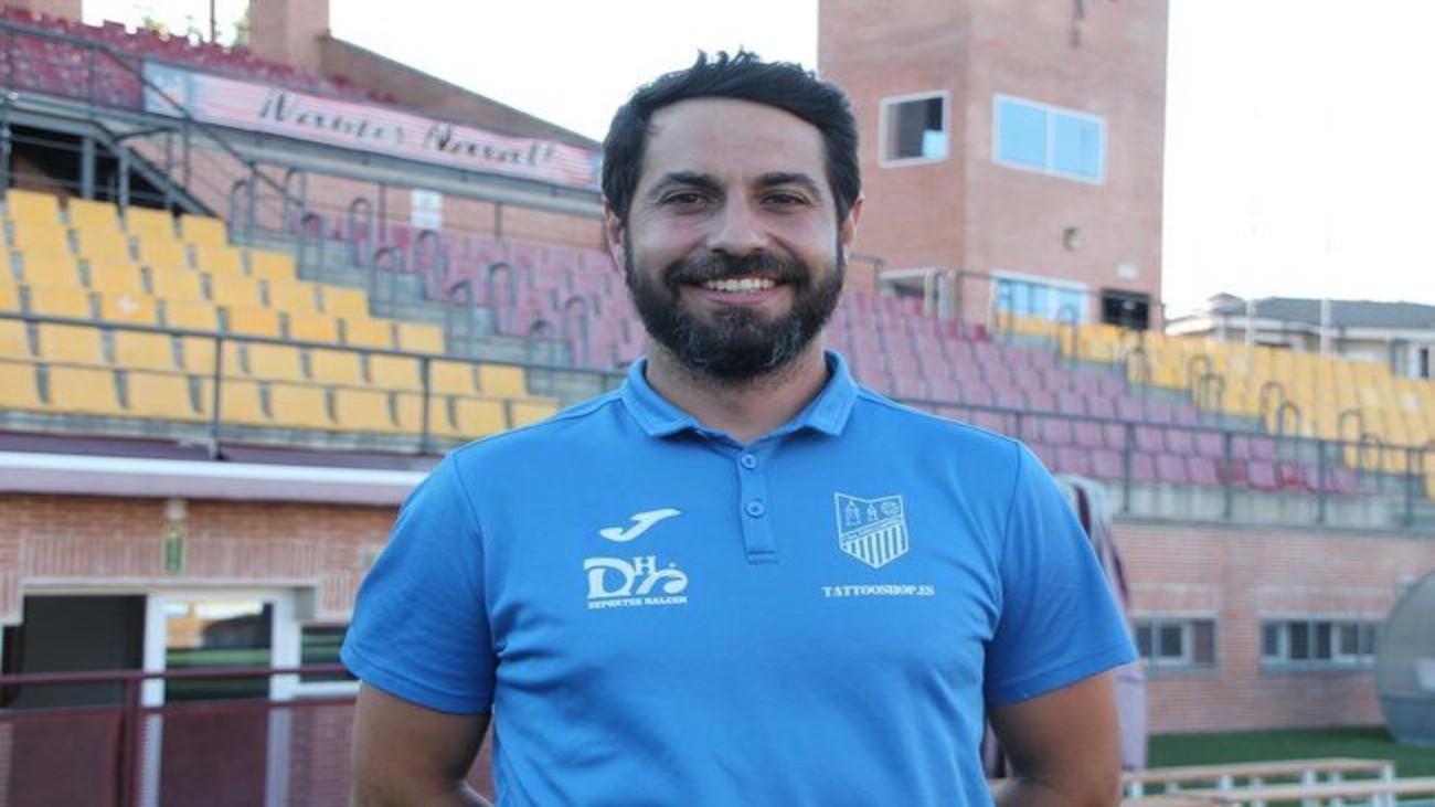 Luis Ayllón, entrenador del Navalcarnero