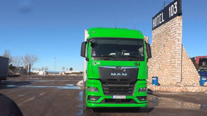 Área 103, todo un mundo dedicado al camionero junto a la carretera