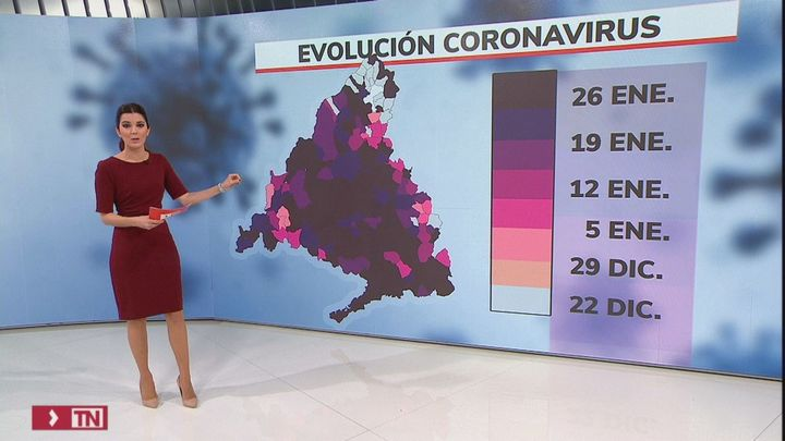 Una de cada 100 personas en Madrid está contagiada de coronavirus