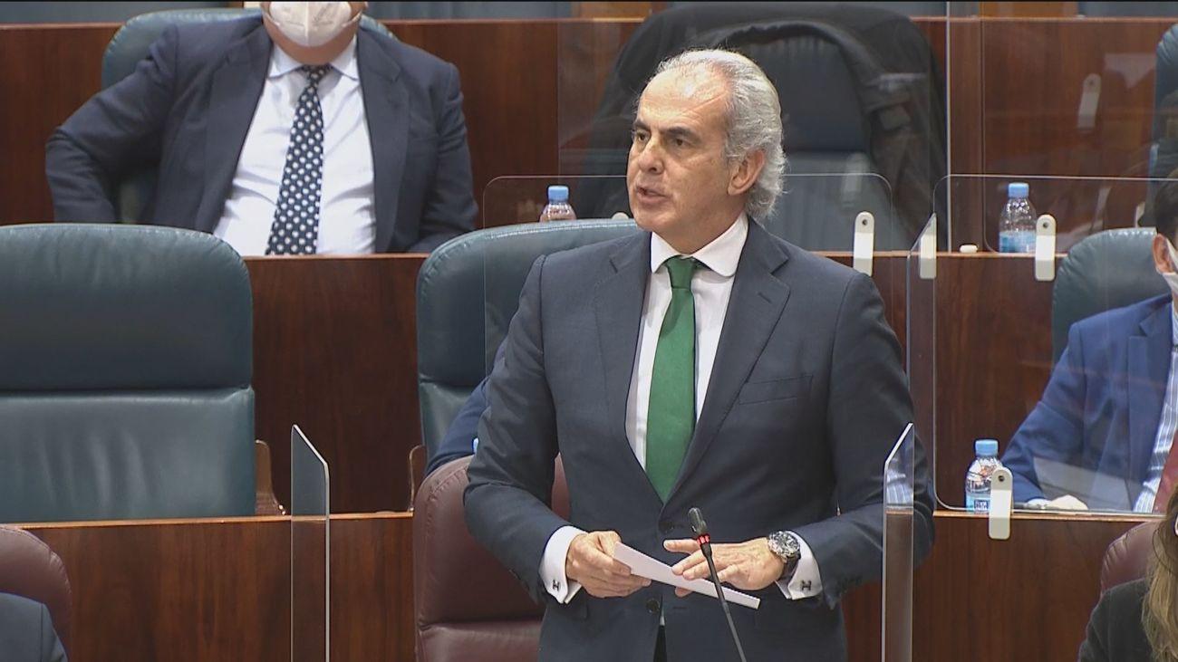 Enrique Ruiz Escudero, consejero de Sanidad de Madrid