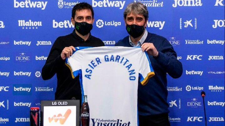 """Garitano: """"Estoy muy contento de volver al Leganés, me siento como en casa"""""""