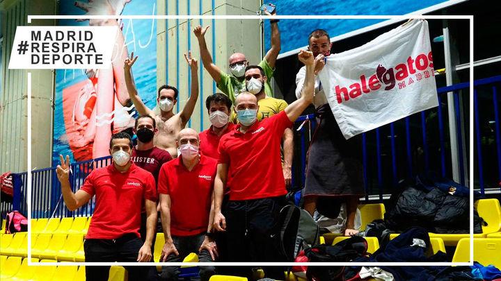 CD Halegatos se impone en el Campeonato de Madrid de Natación Master