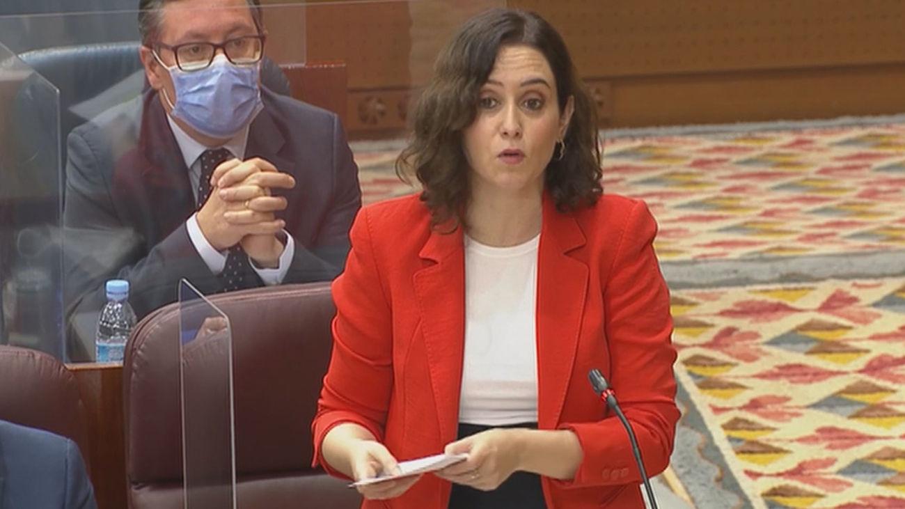 Los pasos a seguir en la Asamblea de Madrid antes de la investidura de Ayuso