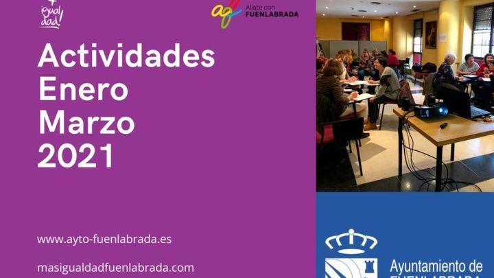 Un total de 363 personas se inscriben este trimestre a los talleres online de Feminismo de Fuenlabrada