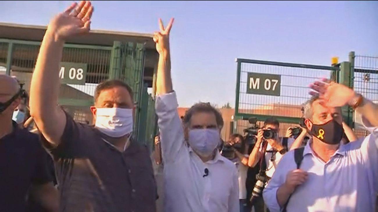 Los presos del proces soberanista catalán
