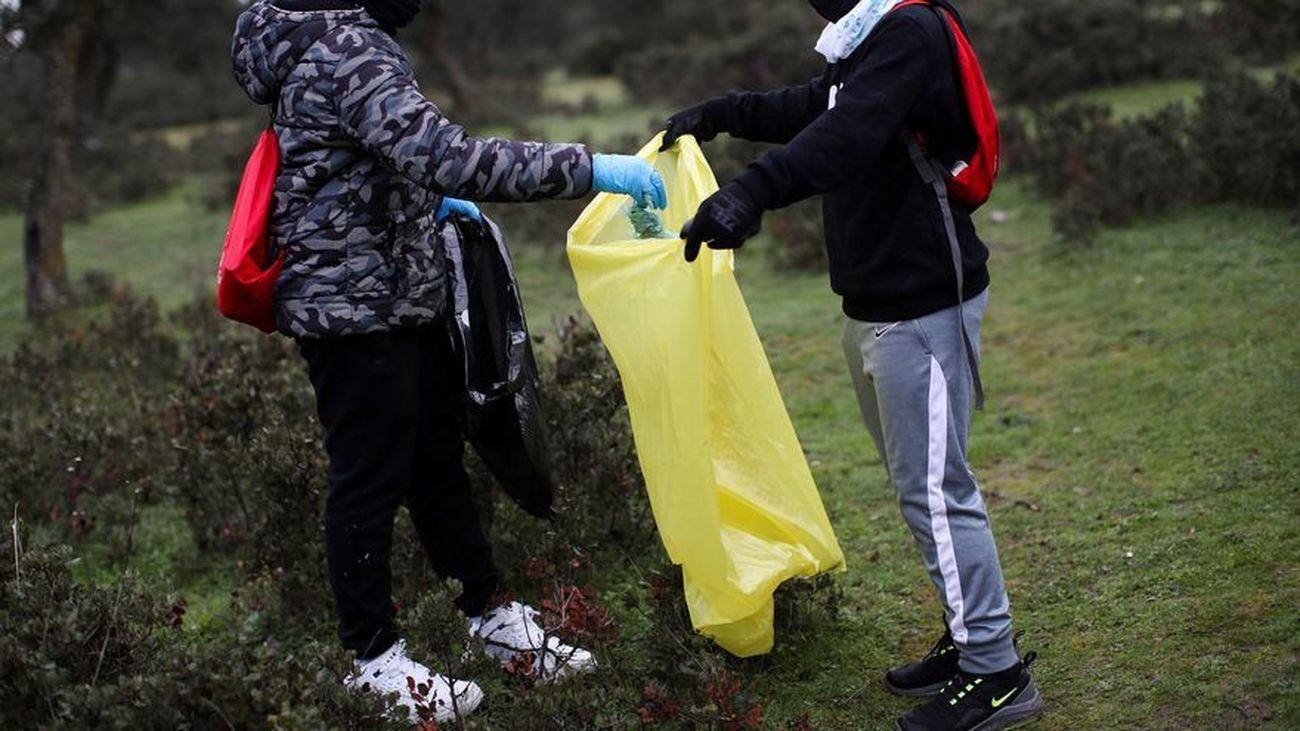 El proyecto Libera retira 13.400 kilos de residuos de la Naturaleza