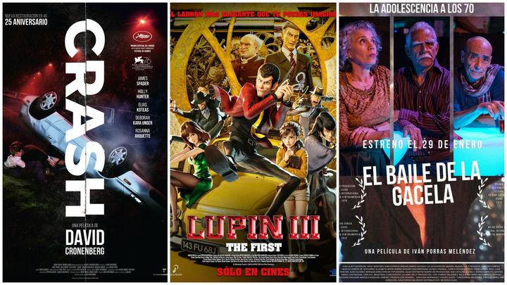 Estrenos de cine... contados de otra manera: Coches, fútbol, baile y un ladrón