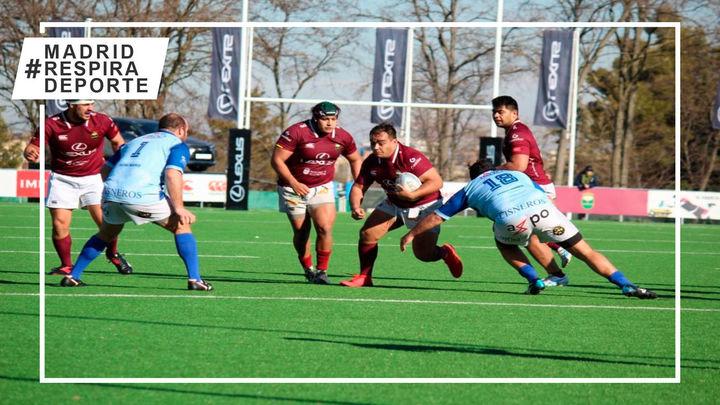 Rugby Alcobendas y Complutense Cisneros abren una liga que estrena formato