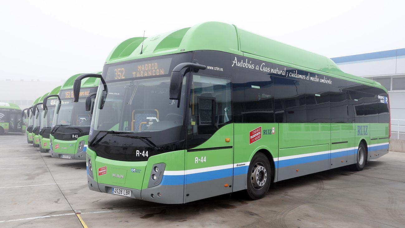 Autobuses interurbanos de Madrid