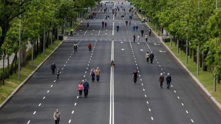 Madrid retoma este fin de semana las peatonalizaciones provisionales que se suspendieron tras 'Filomena'