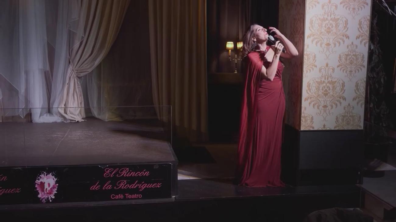 La soprano María Rodríguez se mete en la piel de Rocío Jurado