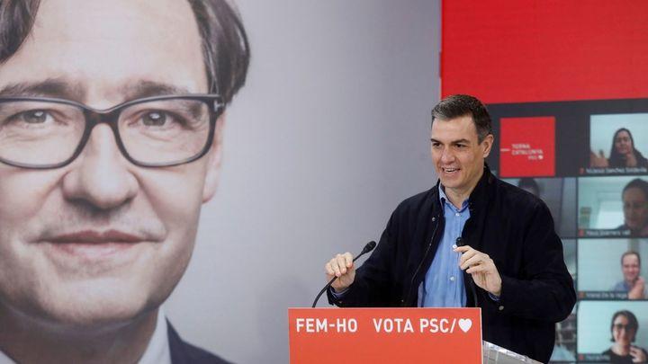 """Sánchez aboga en Cataluña por mirar hacia adelante """"sin revanchas ni rencores"""""""
