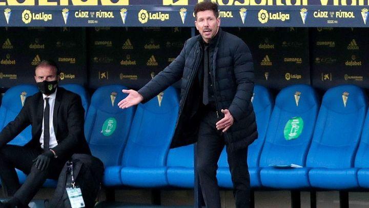 """Simeone: """"Tenemos que seguir esta línea y seguir mejorando"""""""