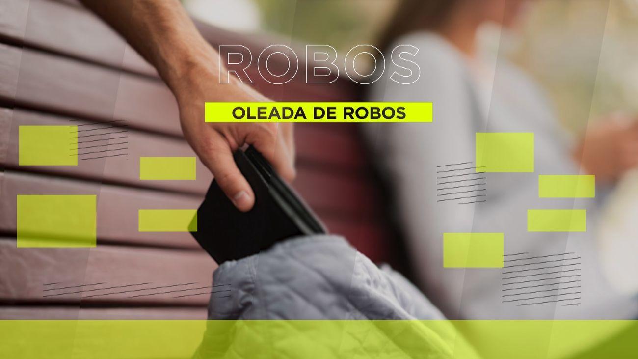 Robos con intimidación y al descuido en San Cristóbal de los Ángeles