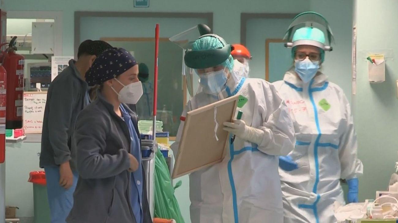 Madrid notifica 1.259 nuevos casos, 563 contagios y 61 defunciones en las últimas 24 horas