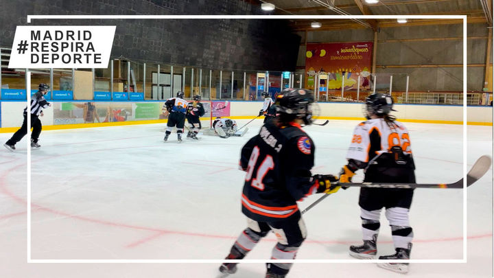 Nueva exhibición de dominio del Hockey Hielo Majadahonda