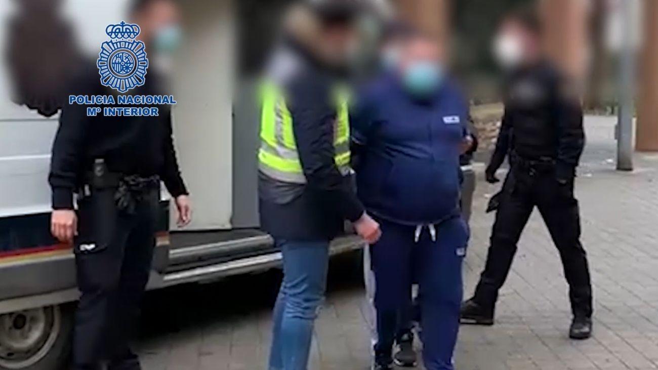 Detenido en Fuenlabrada un peligroso fugitivo con nueve órdenes de detención por robos