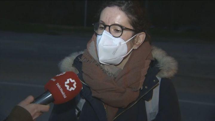 La oncóloga Gloria Martina, primera sanitaria del Zendal en alojarse en el hotel AC Marriot Feria