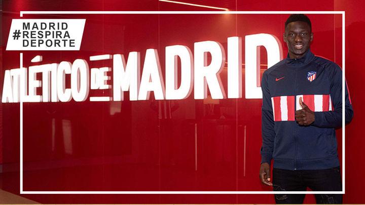 Ibrahim Diabate llega cedido al Atlético B