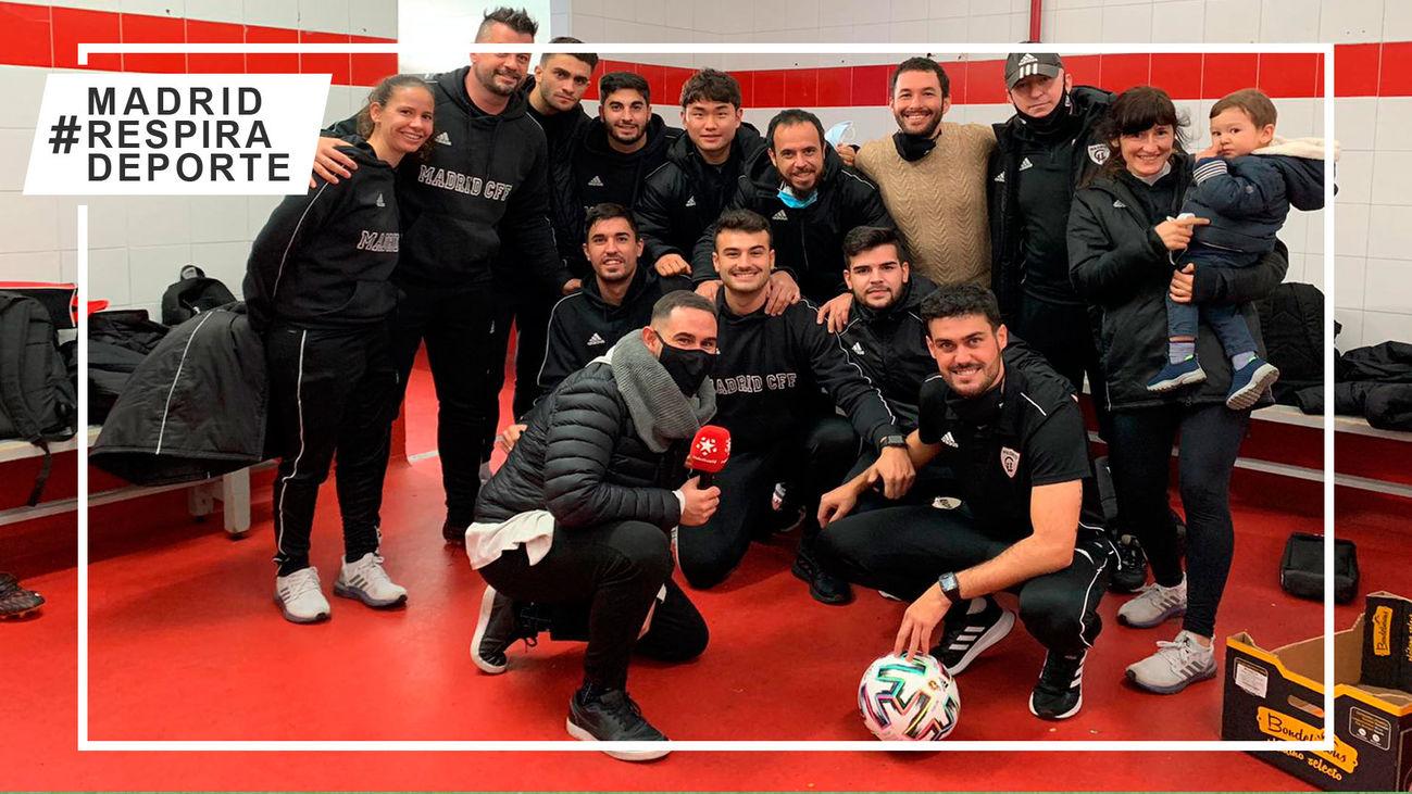 Vivimos 24 horas junto al entrenador del Madrid CFF