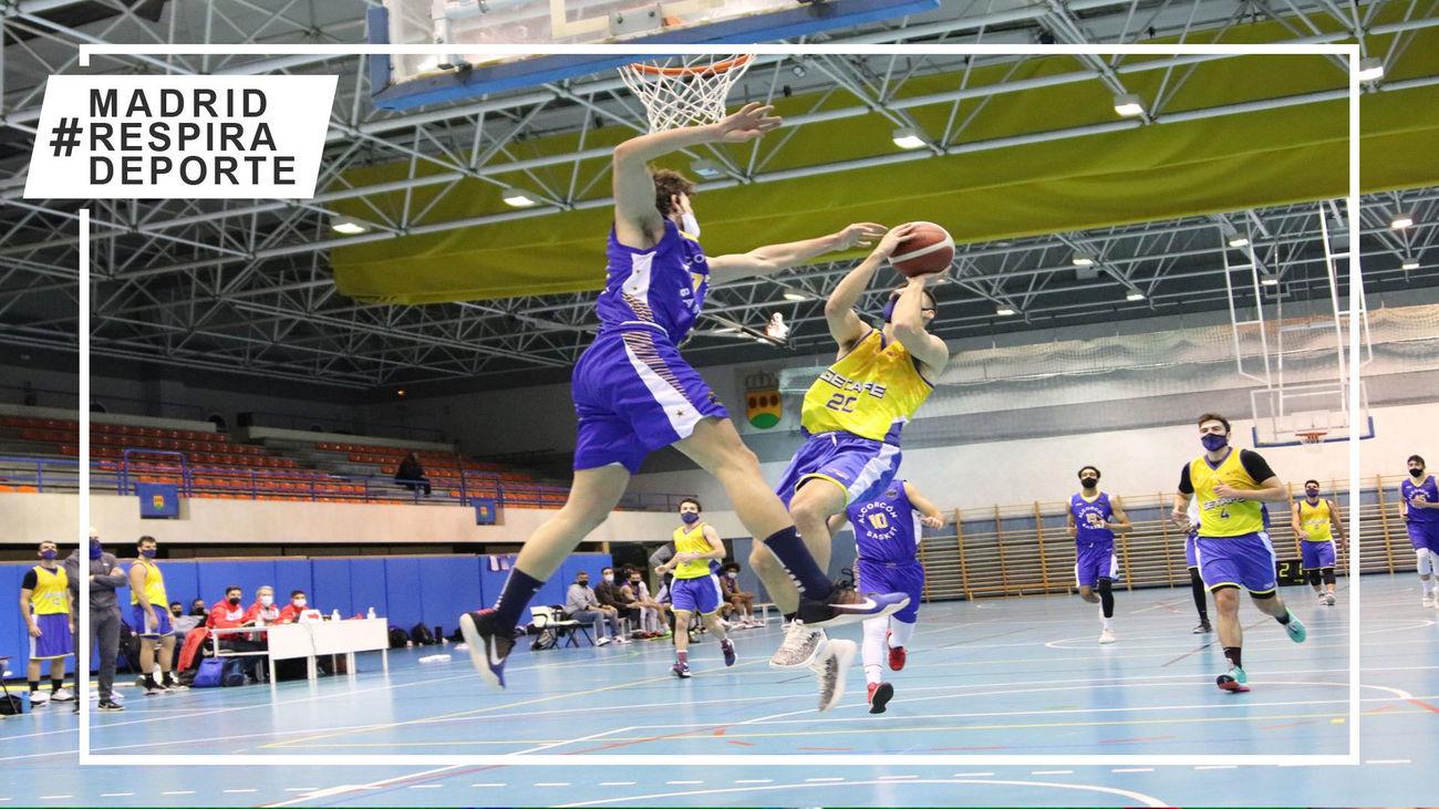 Partido de baloncesto en Madrid