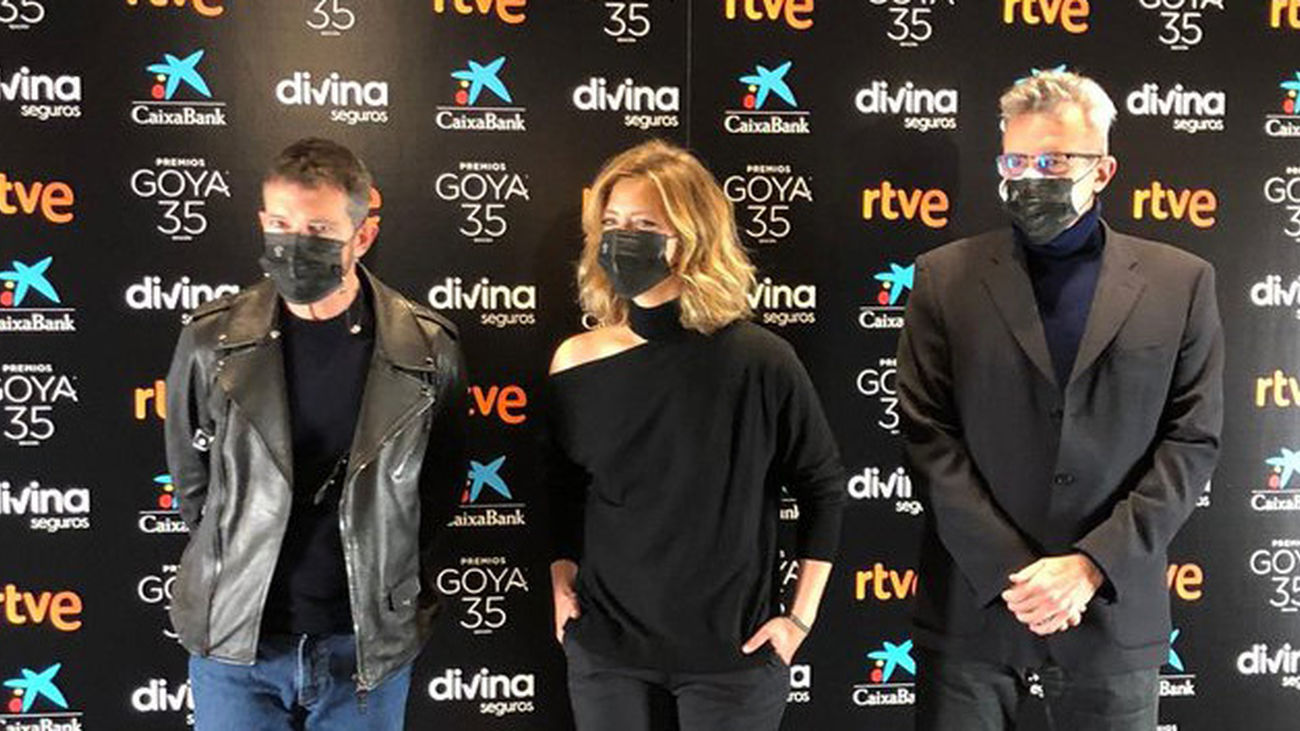 Rueda de Prensa de presentación de la gala de los Premios Goya