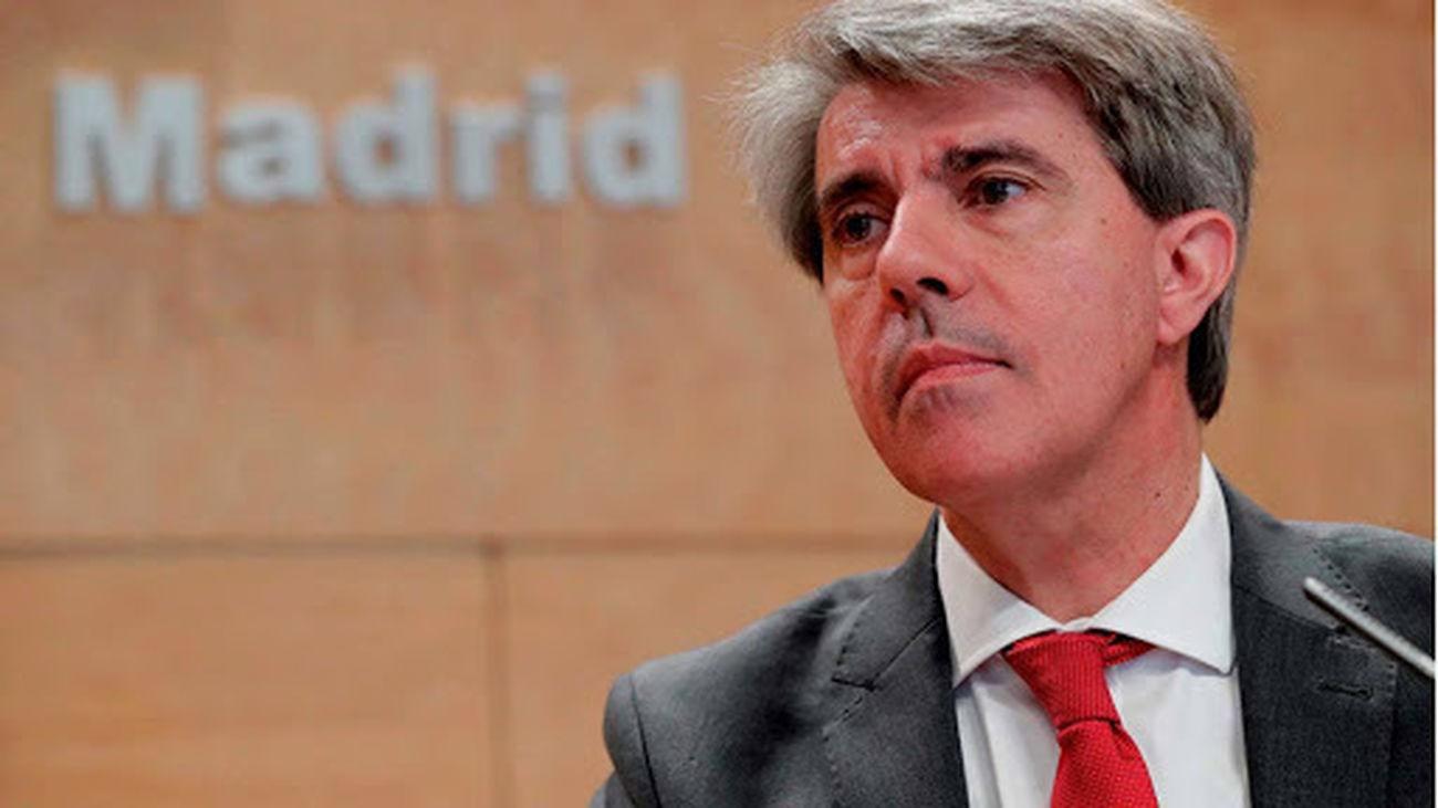 Ángel Garrido, consejero de Transportes, Movilidad e Infraestructuras de la Comunidad de Madrid