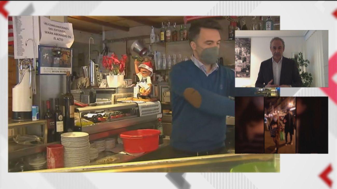 """Los hosteleros madrileños, sobre la Semana Santa: """"Se debe ser prudente, vamos día a día"""""""