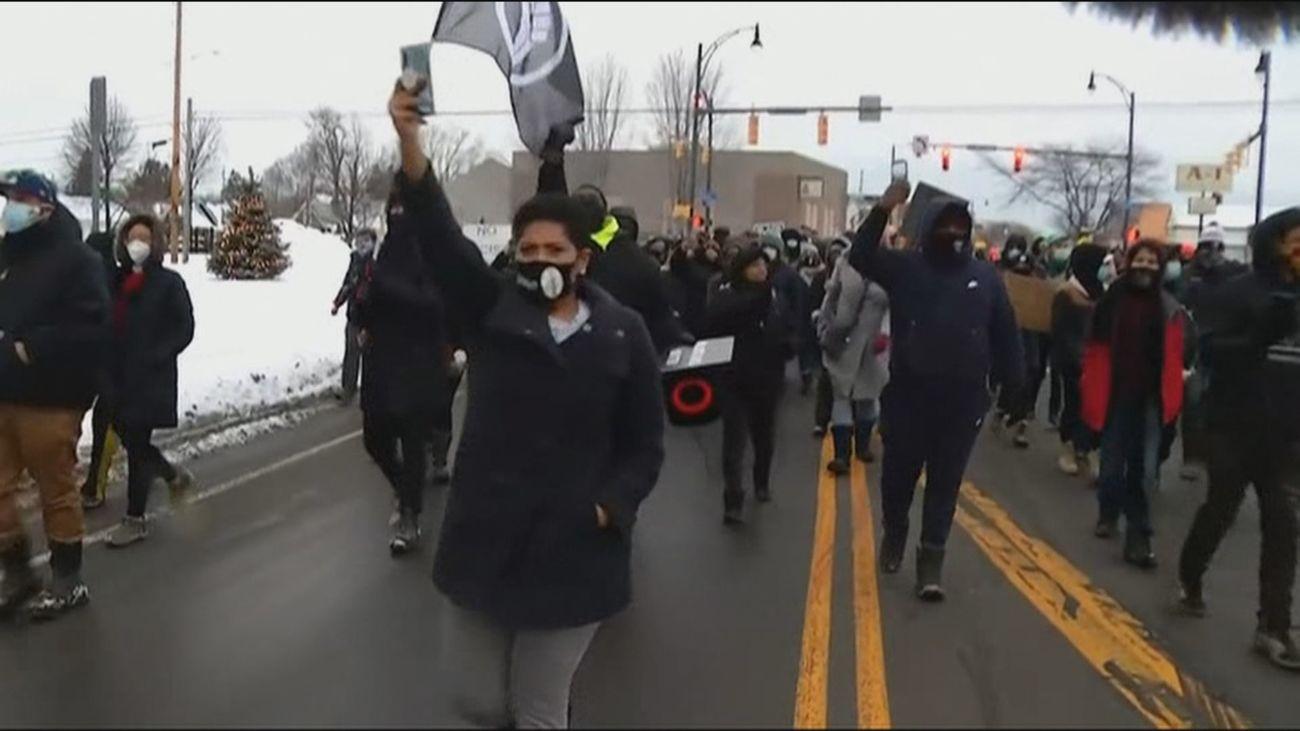 Nueva ola de protestas en  Estados Unidos por la detención de una menor de 9 años
