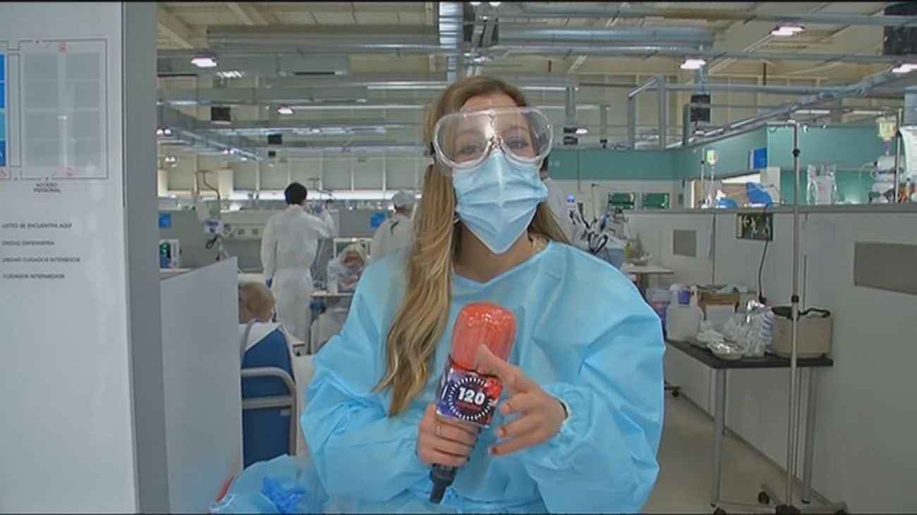 Nos metemos dentro de la novedosa Unidad de Cuidados Respiratorios del hospital Zendal