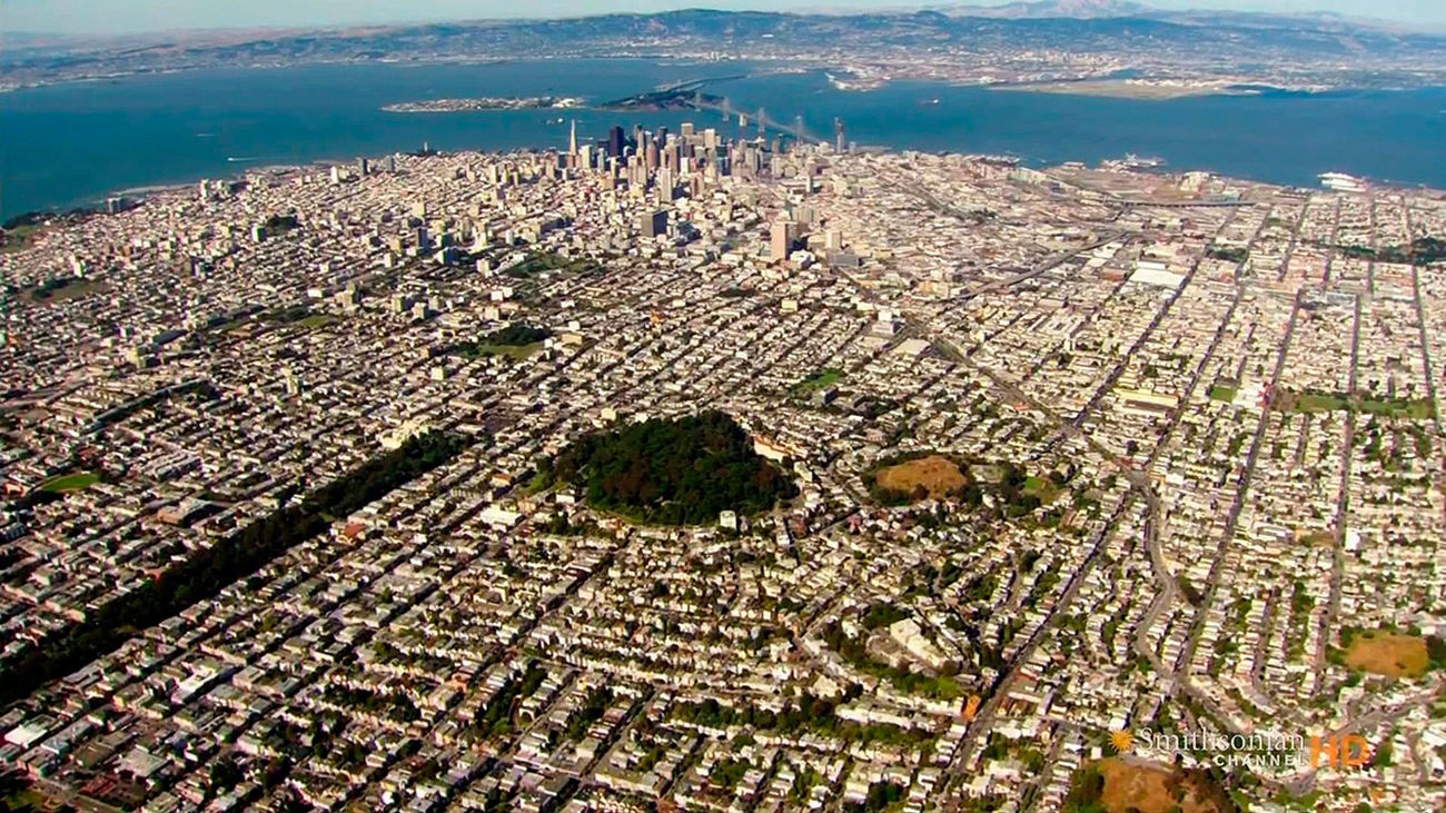 Escena del documental 'América desde el aire: sur de California'