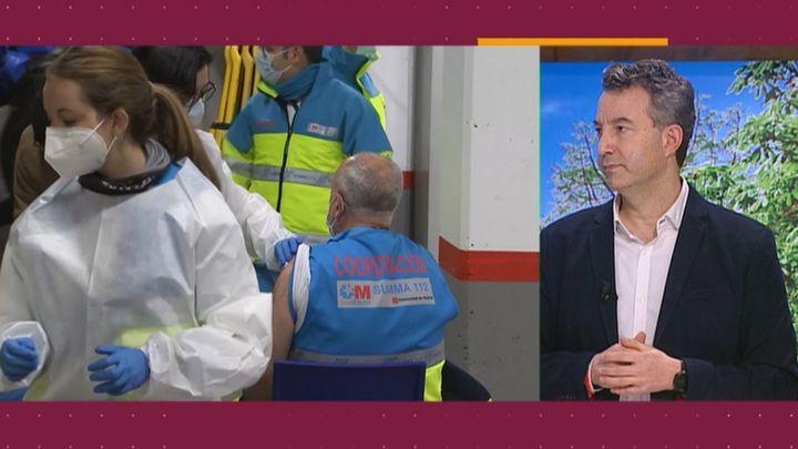 César Carballo propone no vacunar, por el momento, a las personas que ya han pasado el coronavirus