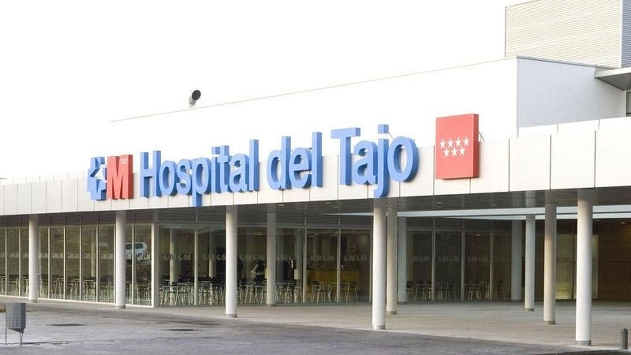 Entrada principal del Hospital del Tajo