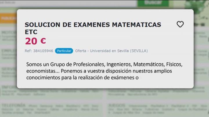 Picaresca en los exámenes online, con aprobados fraudulentos en las universidades