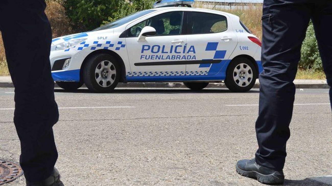 Agentes de la Policía Local de Fuenlabrada