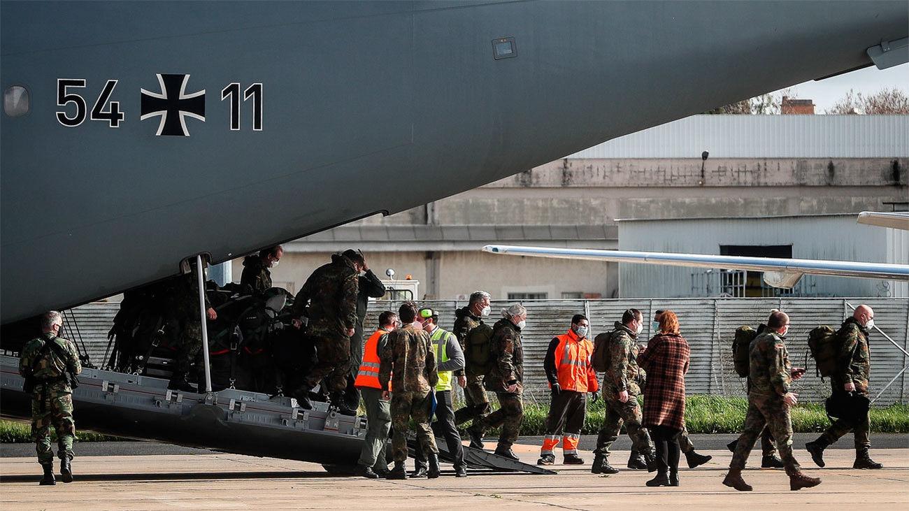 Personal sanitario militar alemán desplazado a Lisboa