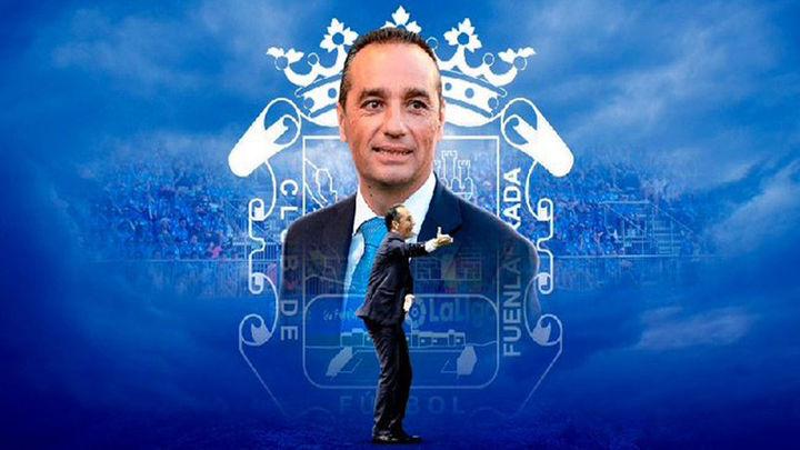 José Luis Oltra, nuevo entrenador del Fuenlabrada