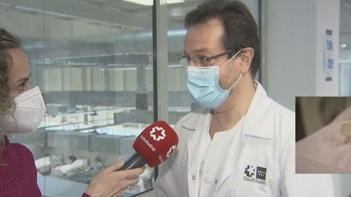 """Prados, gerente del Zendal: """"Los sabotajes y robos han ido unidos a la campaña de bulos sobre este hospital"""""""