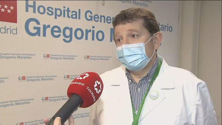 """Hospital Gregorio Marañón: """"Los pacientes llegan mejor y los ingresos en UCI son menos"""""""