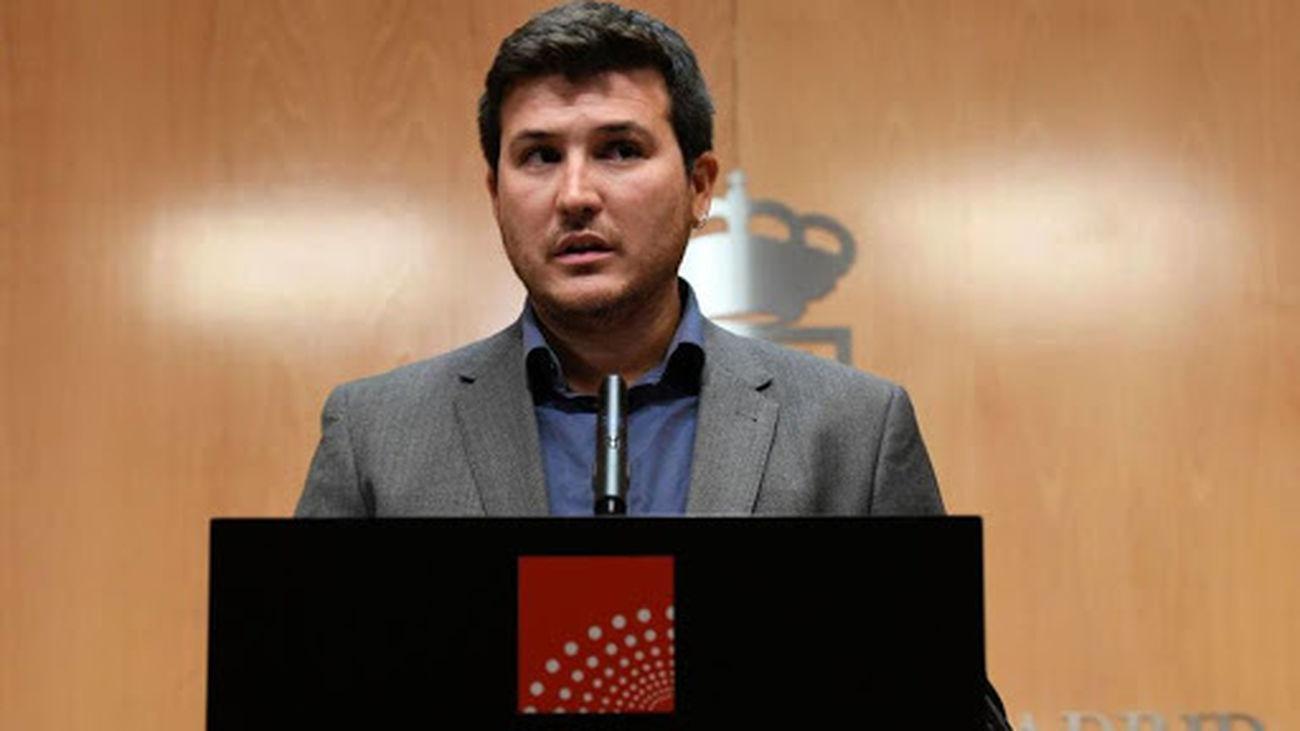 Pablo Gómez Perpinyá, portavoz de Más Madrid en la Asamblea de Madrid