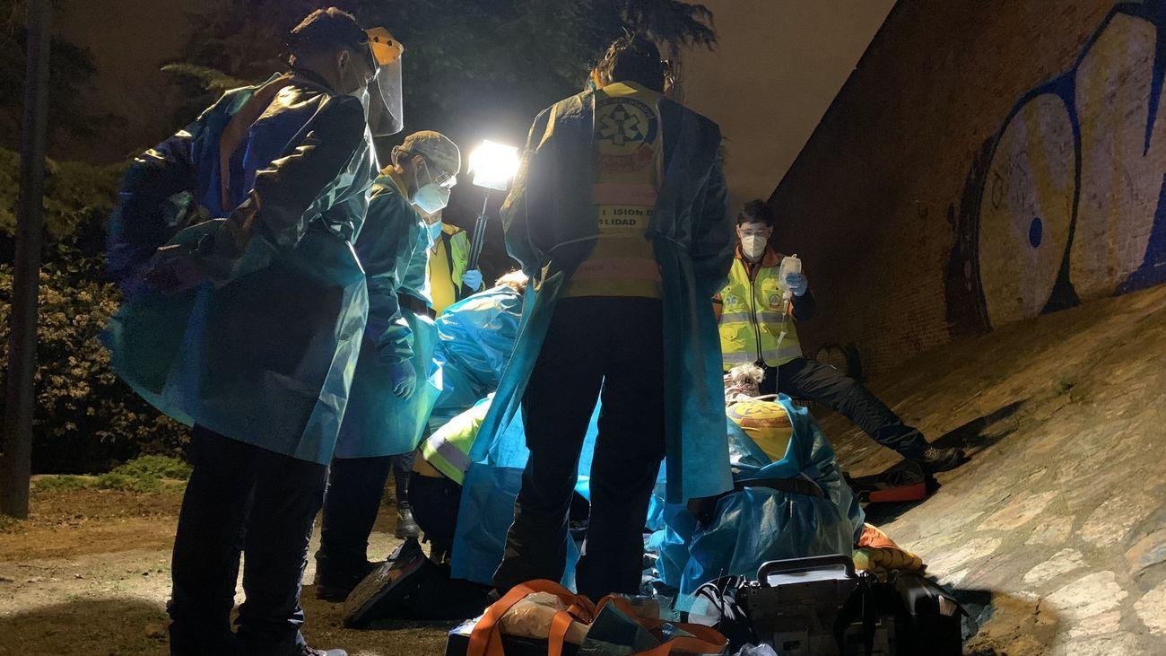 Una pelea entre bandas latinas, hipótesis del apuñalamiento de un niño de 13 años en Carabanchel