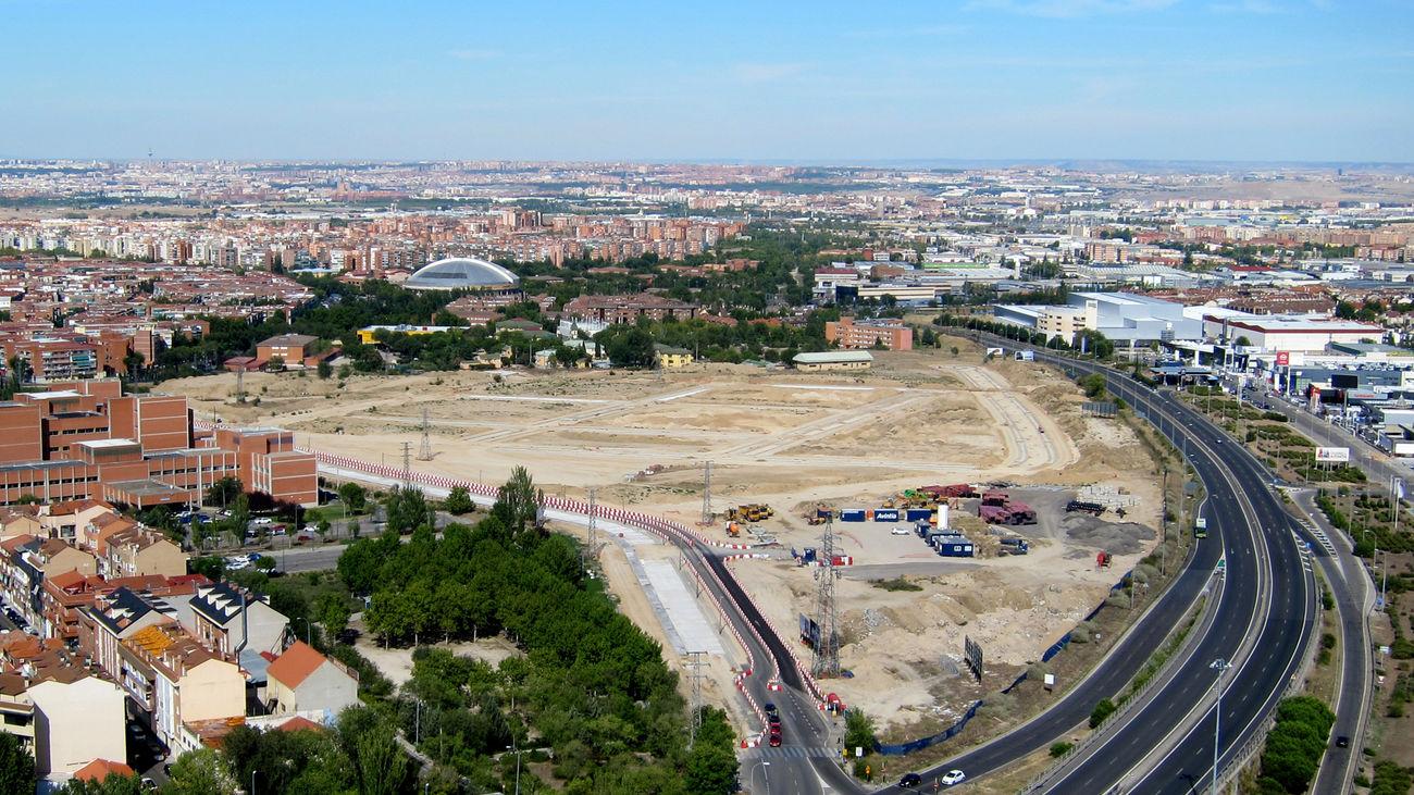 Terrenos de Leganés donde se construirá una de las promociones de vivienda pública